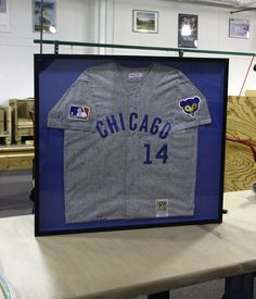 How to frame a jersey 8 steps with pictures wikihow premier diy framing sports memorabilia learn how easy it is to custom frame your favorite solutioingenieria Choice Image