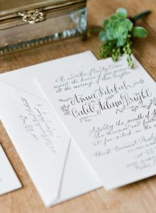 Love this invitation.  Wendy Ware can do this for any bride.  www.wendywaredesigner.com