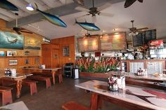 Enjoy your meal fresh from the sea at the Paia Fish Market in Maui