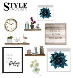 """Wall Art"" by lorinicolson on Polyvore featuring interior, interiors, interior design, home, home decor, interior decorating, Oliver Gal Artist Co. and Newgate"