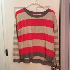 Striped banana republic sweater Striped banana republic sweater worn once! Banana Republic Sweaters