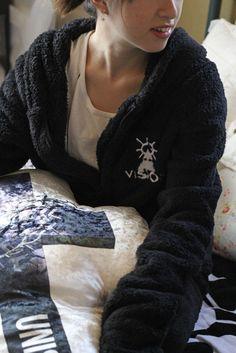 the GazettE Uruha produce room wear,  relaxation wear, 2013