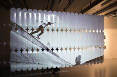 Skateboard exhibition in Paris, Summer 2011