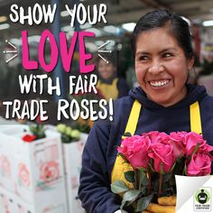 Want to give your special someone #flowers that give back? See how you can find a beautiful bouquet in time for #ValentinesDay: http://fairtrd.us/1DztWVE #roses #FairTrade