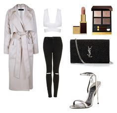 """""""Untitled #3"""" by m-selassie ❤ liked on Polyvore featuring Topshop, TIBI, Tom Ford and Yves Saint Laurent"""