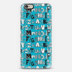 ABC blue @Casetify #casetify #ABC #alphabet #typography #blue #phone #case #school #study #learn #kids #cute ~ get $10 off using code: 5A7DC3