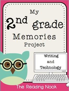 What a fun way to incorporate writing and technology! This is one project parents will be keeping for years to come!