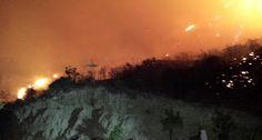 en directo: VÍDEO--Arde en llamas uno de nuestros parque Nacio...