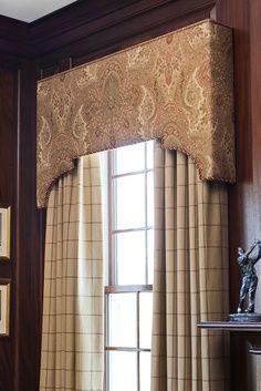 images drapery and contrasting cornice board - Google Search