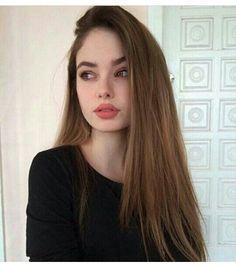 Imagem de girl, hair, and beauty Beauty Makeup, Hair Makeup, Hair Beauty, Makeup Style, Pretty People, Beautiful People, Aesthetic Girl, Tumblr Girls, Pretty Face