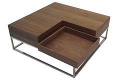 Udrina Coffee Table, Walnut | One Kings Lane