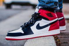 Air Jordan 1 Retro Black Toe #sneakernews #Sneakers #StreetStyle #Kicks