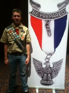 Joey Williamitis...newest Eagle Scout! Congratulations!