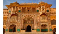 Travel to India and explore Delhi, Jaipur, Rajasthan, Varanasi and Agra. Visit the Taj Mahal, the Pink City and Ranthambore National Park with Smithsonian Journeys. India Architecture, Ancient Architecture, Agra, India Jaipur, India Art, Verona, Taj Mahal, Audley Travel, Amer Fort