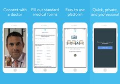 The EazeMD app lets you consult a weed doctor on your phone.  It's like Skype for medical Marijuana prescriptions.