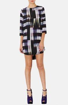 Topshop 'Camera Check' Print Tunic Dress on shopstyle.com