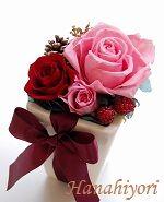 ミニアレンジ☆手のひらサイズの小さいギフトです。 Rose, Flowers, Plants, Gifts, Pink, Presents, Plant, Favors, Roses