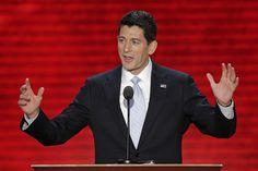 Congressman Paul Ryan night of RNC in Tampa - August 29, 2012