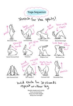 Yoga bunny is a character created by Brian Russo, which I use on my personal health blog to illustrate yoga sequences I make up myself. These sequences are very popular on sharing sites such as tumblr and Pinterest, and rank highly on Google...