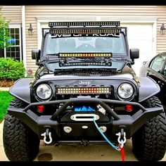 """DV8 Offroad bumpers are all trail tested and proven designs! 3/16"""" and 1/4"""" cold rolled steel, .120 wall tubing, high degree angles and raised corners, light tabs and Solid D-ring mounts w/ rings incl"""