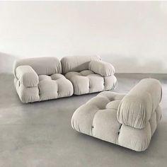 at home + furniture + sofa + armchair + modular + Mario Bellini Interior Design Inspiration, Home Decor Inspiration, Home Interior, Interior Decorating, Furniture Decor, Furniture Design, Chaise Vintage, Modular Sofa, Trendy Home