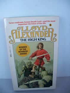 Vintage  Fantasy Book  The High King  1981 by Lionfishvintage, $7.00