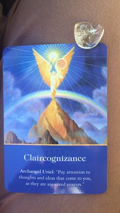 Good morning beautiful people,  How are you doing?  Today's Card is Claircognizance!  It feels like you have some great ideas, but unsure if you can do it! Well, my love those ideas are divine messages, so pay attention to them! Write them down and set clear intention that you manifest them! The how is not your part to worry, just let it go and know that you have what you want! Use visualization and ask your Angels to help you! Your job is to take action! The universe loves speed, so you…