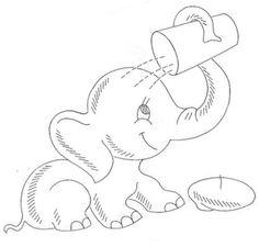 Cute Drawings Of Elephants | erwinnavyanto.in