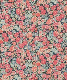 Liberty Art Fabrics Chive B Dartmoor Cotton | Fabric | Liberty.co.uk