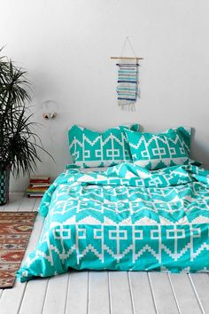 Magical Thinking Southwest Geo Duvet Cover #urbanoutfitters
