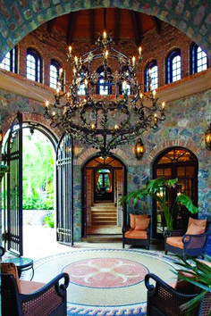 Entryway decor always need a luxurious suspension lamp. Discover more luxurious . - Entryway decor always need a luxurious suspension lamp. Discover more luxurious interior design det - Gothic Interior, Luxury Interior, Luxury Furniture, French Interior, Contemporary Furniture, Modern Interior, Mansion Interior, Smart Furniture, Furniture Design