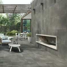 NUOVOCORSO: 7 Stone – These porcelain stoneware tiles are stone-like not only in appearance, but also in texture. The rough-skinned quality of the tiles gives a tactile stone effect that is striking to the senses. The collection is available in two stone looks: 7 Stone Basaltina comes in four colors (grey, black, beige and taupe) and two large sizes; 7 Stone Lipica is available in three gray shades (gray, mud and anthracite) and four sizes. www.nuovocorso.it