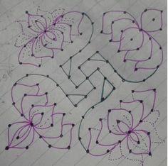 Rangoli Designs with Dots