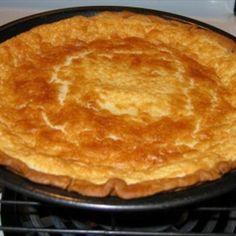 Texas Buttermilk Pie Recipe--the best I've ever tried. Köstliche Desserts, Delicious Desserts, Dessert Recipes, Yummy Food, Plated Desserts, Southern Desserts, Southern Food, Southern Recipes, Big Mac