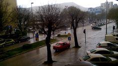 yellow rain, afrička pješčana kiša, orange sky in Mostar, Enter.ba photo archive.