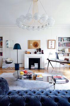 Sandra Benhamou Parisian Flat | FrenchByDesign