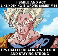 That's Goku for you. :)