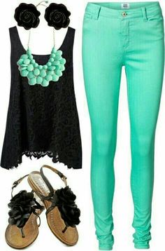 Who doesn't love mint green? :)