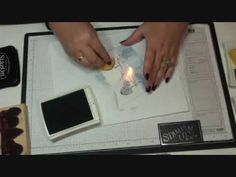 mirror image video from Dawns stamping studio