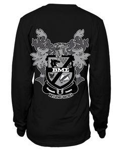 Beta Mu Sigma Longsleeve by Adam Block Design | Custom Greek Apparel & Sorority Clothes | www.adamblockdesign.com