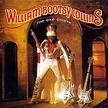 Bootsy Collins - The One Giveth, the Count Taketh Away (Warner Bros. Records)