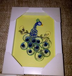 Peacock Quill Art by MaidenLongIsland on Etsy, $22.00