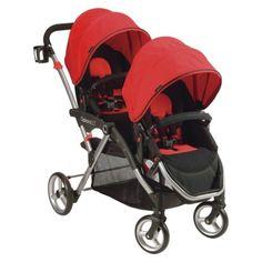 Contours Options LT Tandem Stroller - Crimson