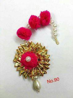 Desi Wedding Decor, Wedding Events, Ethnic Jewelry, Beaded Jewelry, Flower Jewellery For Mehndi, Gota Patti Jewellery, Navratri Special, Diwali Decorations, Bindi