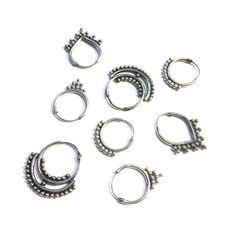 BEADIES Bali oorringetjes 925 sterling zilver 12mm Diy Jewelry, Silver Jewelry, Jewelry Design, Fashion Jewelry, Bali Fashion, Jewelry Tattoo, Silver Hoops, Earring Set, Jewerly