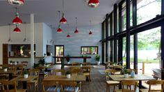 Gastraum Innen Bootshaus - Verlängerte Uferpromenade 21- Berlin Kladow