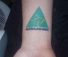 If you& getting a tat, make it patriotic. That& the Australian way. 3 Tattoo, Make Tattoo, Australia Tattoo, Patriotic Tattoos, Australian Flags, Small Tattoos For Guys, Constellation Tattoos, Drawing Reference, Tattoo Designs