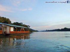 ล่องแพแม่น้ำแคว จังหวัดกาญจนบุรี