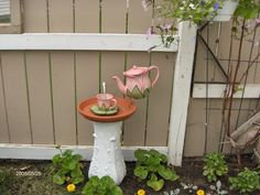 Tootsie Time: Garden Art doesn't have to Cost a Fortune! Make It!