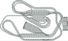 Afbeeldingsresultaat voor marklin baanplan m rails